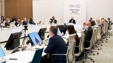 IOC Executive Board Toyko, 17.7.2021