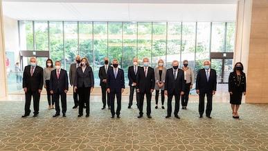 Réunion de la commission exécutive du CIO à Tokyo, 17.7.2021