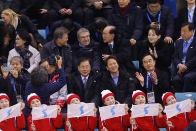 IOC President Thomas Bach at the Olympic Winter Games PyeongChang 2018.