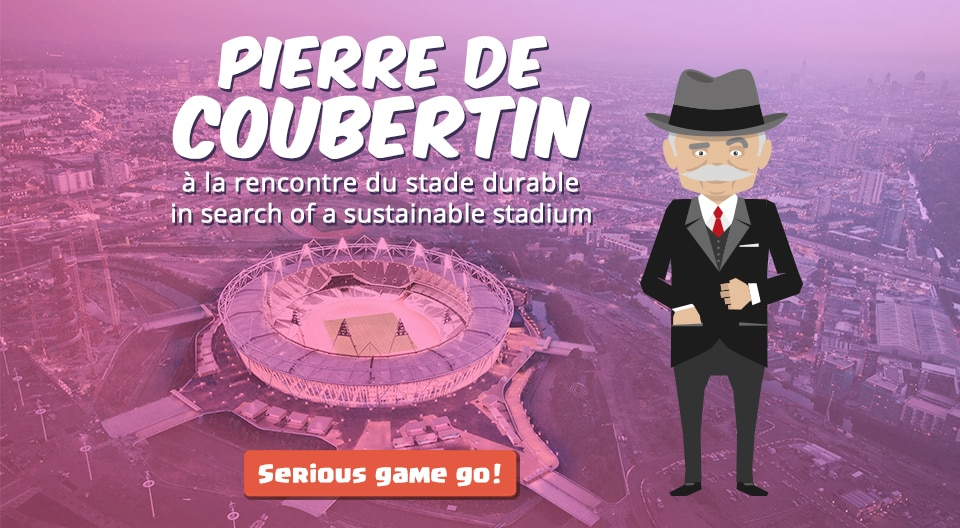 Pierre de Coubertin - Serious Game about Sustainability