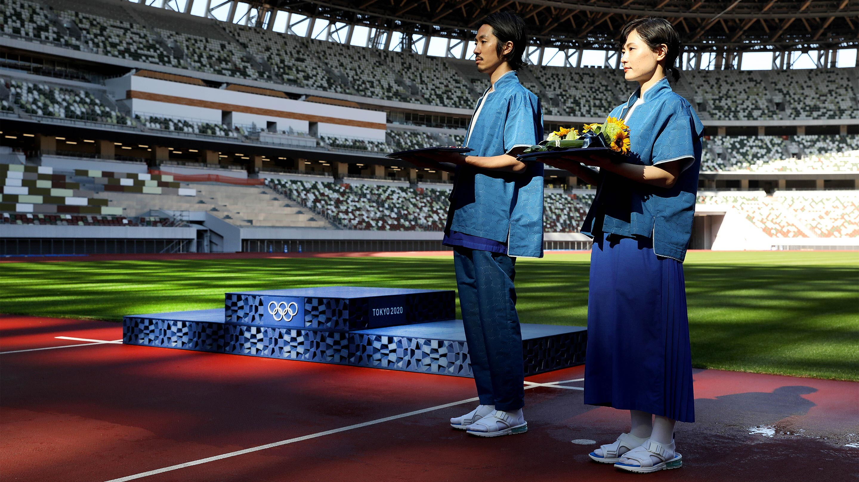 Tokyo 2020 Victory Ceremony elements
