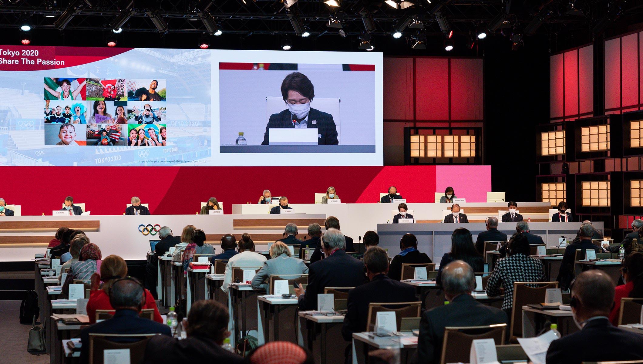 138th IOC Session at the Okura Hotel in Tokyo