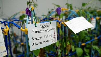 Message of peace Tokyo 2020