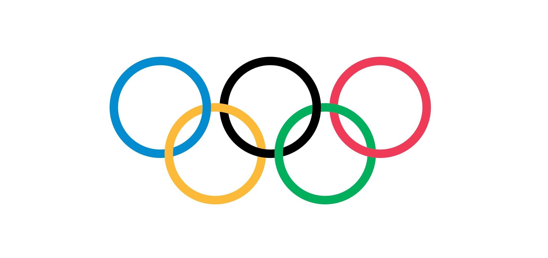 Les anneaux olympiques - 2010