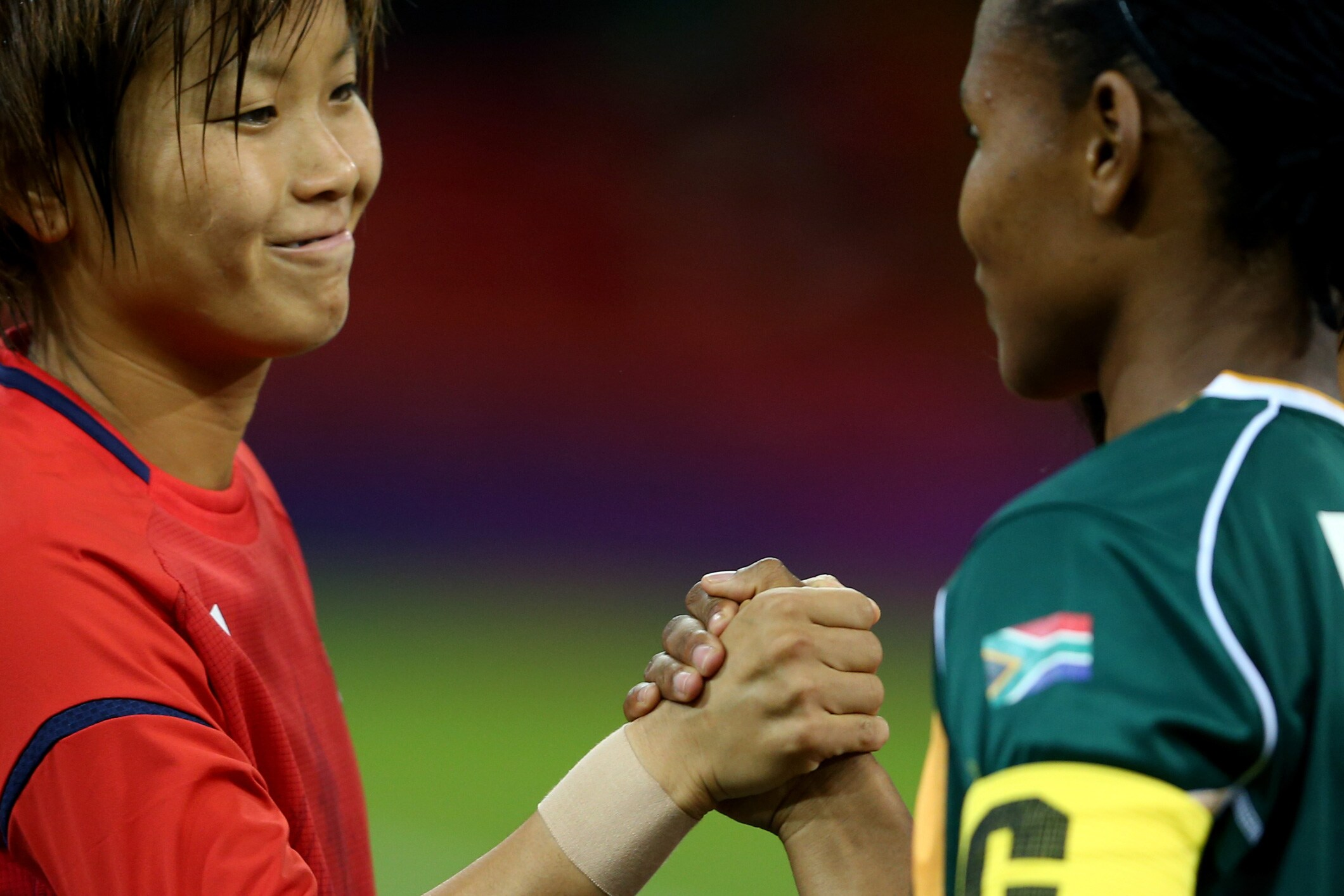 Women's Football, Japan vs South Africa, London 2012
