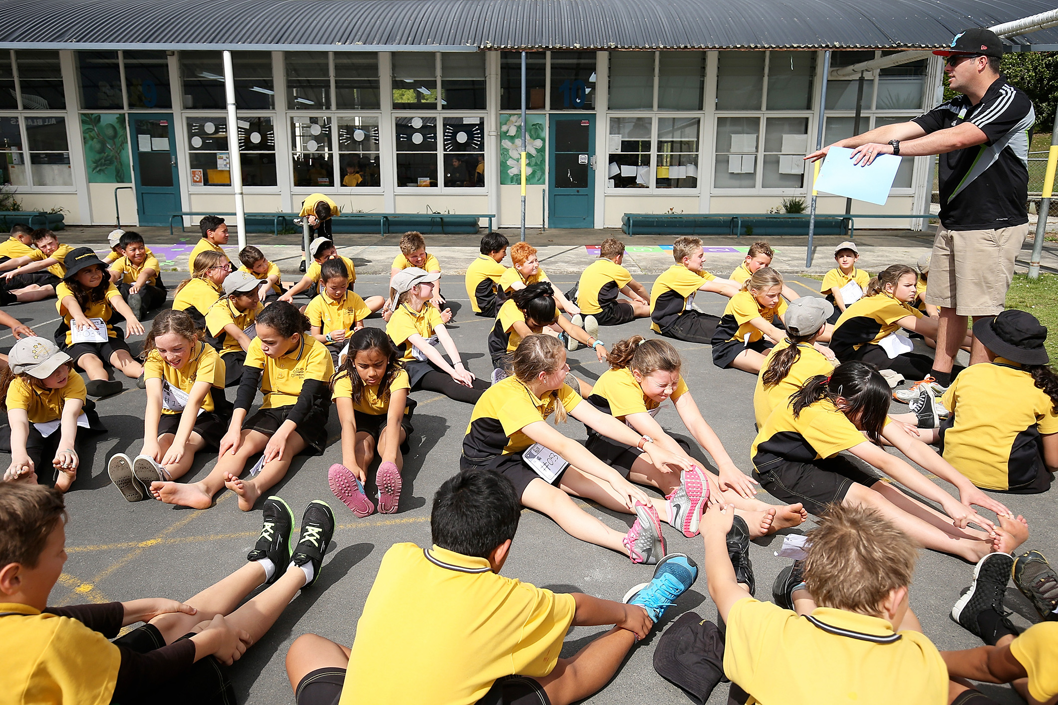 Olympic Day School Celebration 2015 - New Zealand
