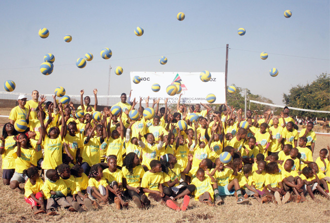 Olympic Day, Mozambique 2014