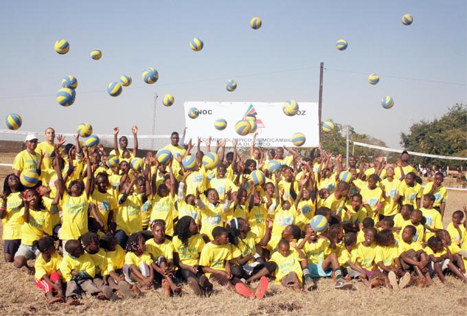 Journée Olympique, Mozambique 2014