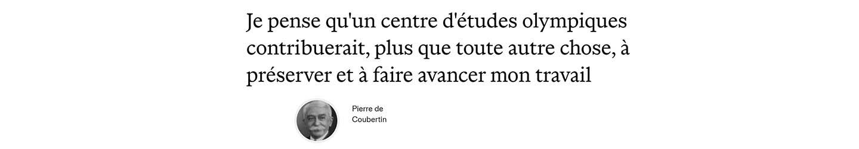 phrase coubertin fr