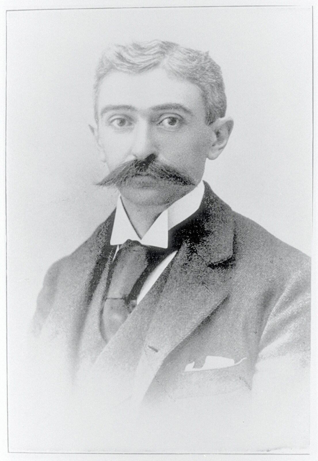 Baron Pierre de COUBERTIN, 1900-1910.