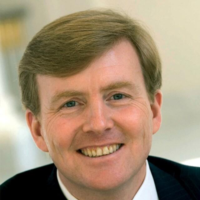 S.M. le Roi Willem-Alexander des  PAYS-BAS