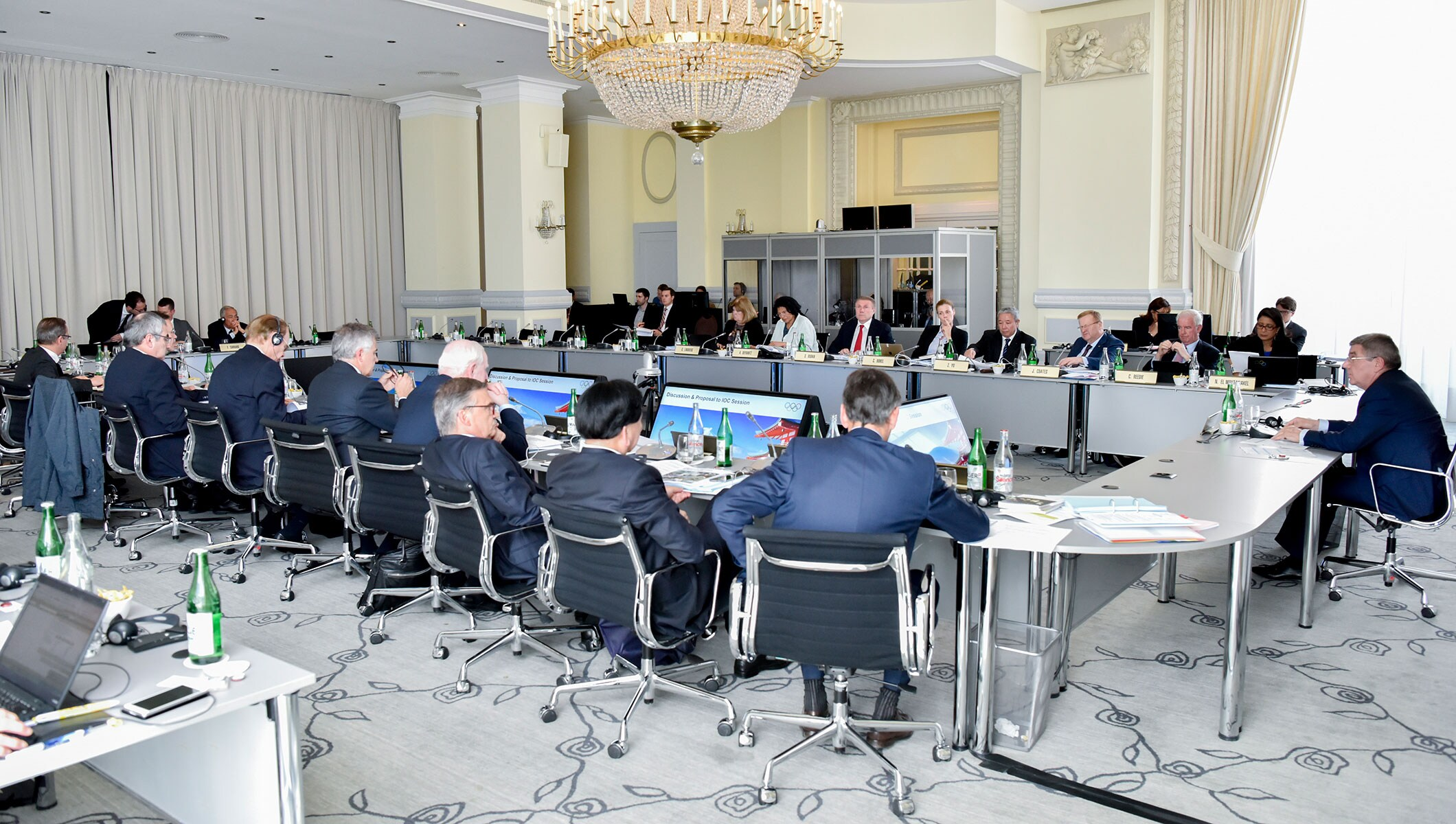 IOC Executive Board meeting Lausanne, June 1, 2016