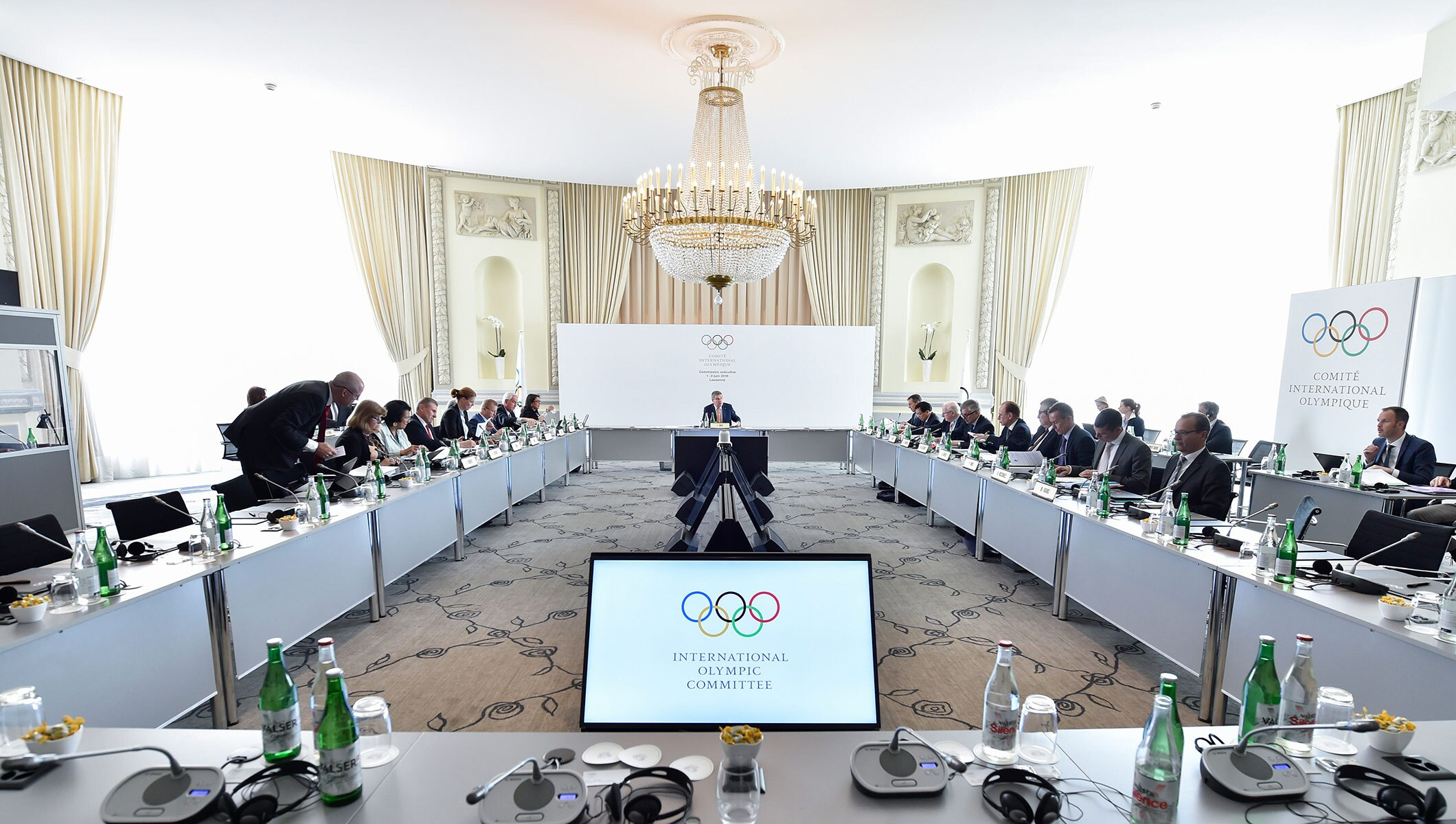 IOC Executive Board meeting, Lausanne, June 1, 2016