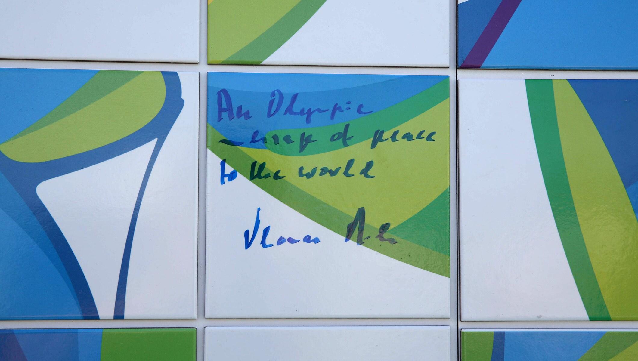 Truce mural