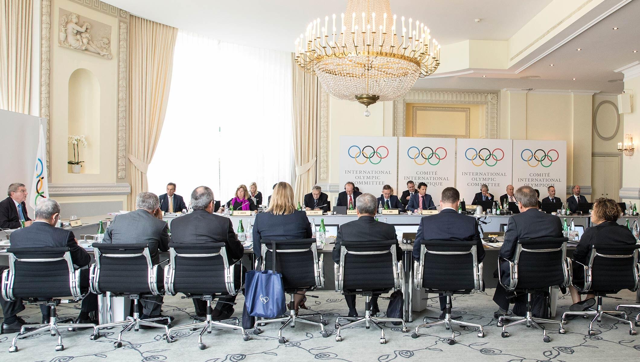 IOC EB Lausanne