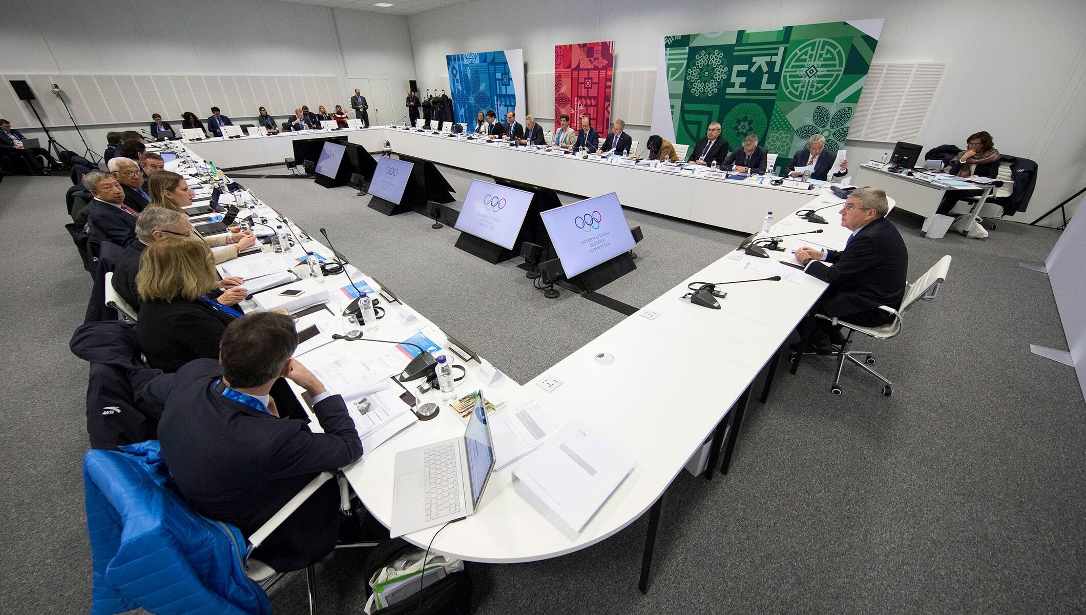 IOC Executive Board PyeongChang 2018