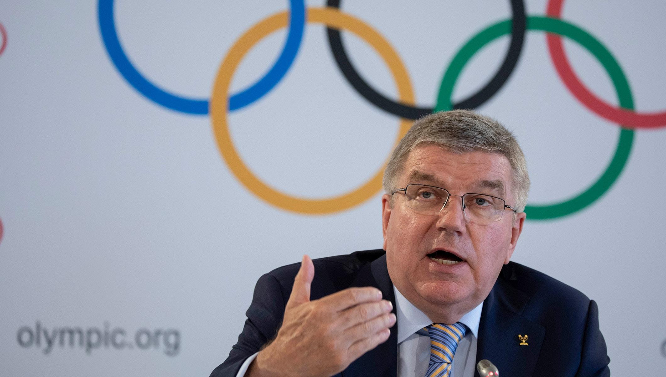IOC President Thomas Bach July 2018