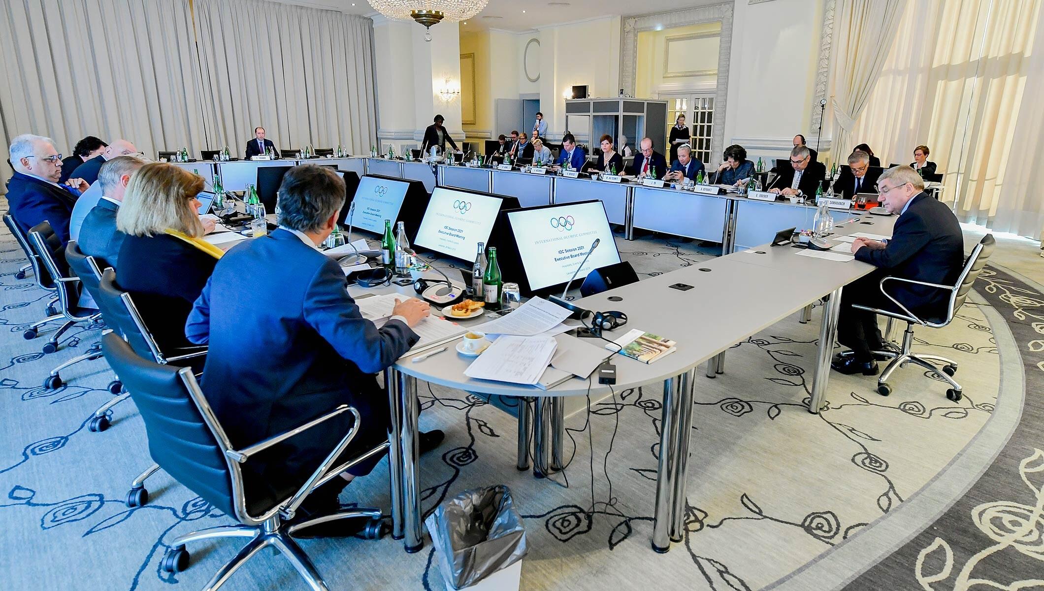 IOC Executive Board meeting Lausanne