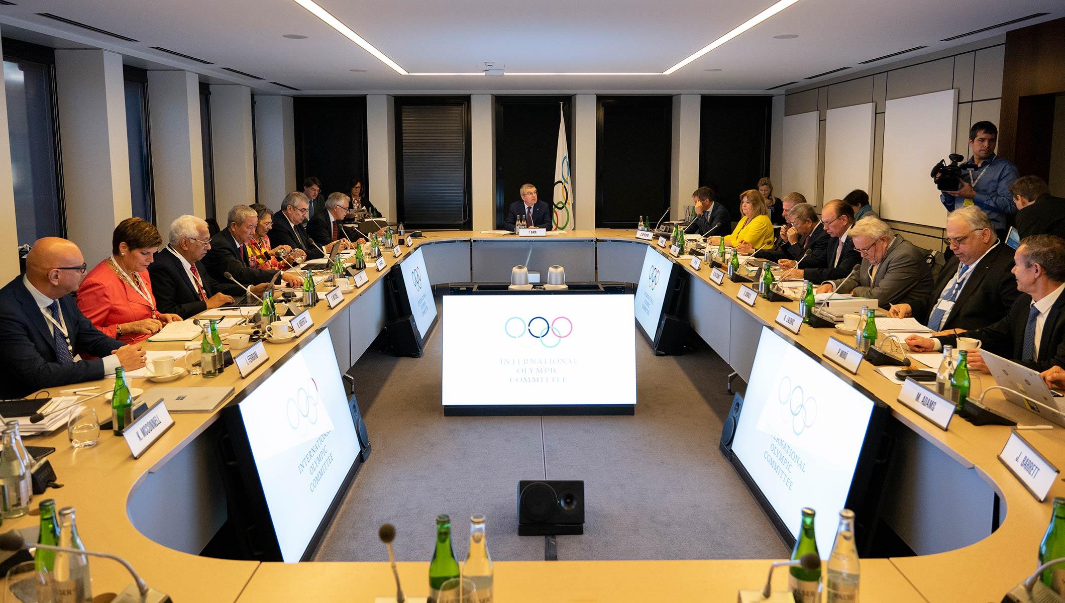 IOC Executive Board Meeting Lausanne 22 May 2019