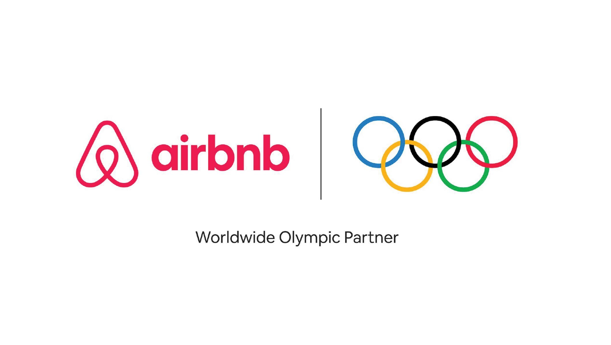 Airbnb logo – Olympic Rings