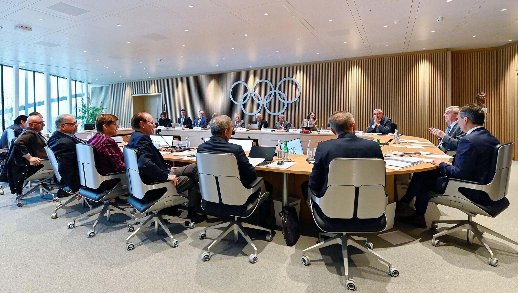 IOC Executive Board meeting
