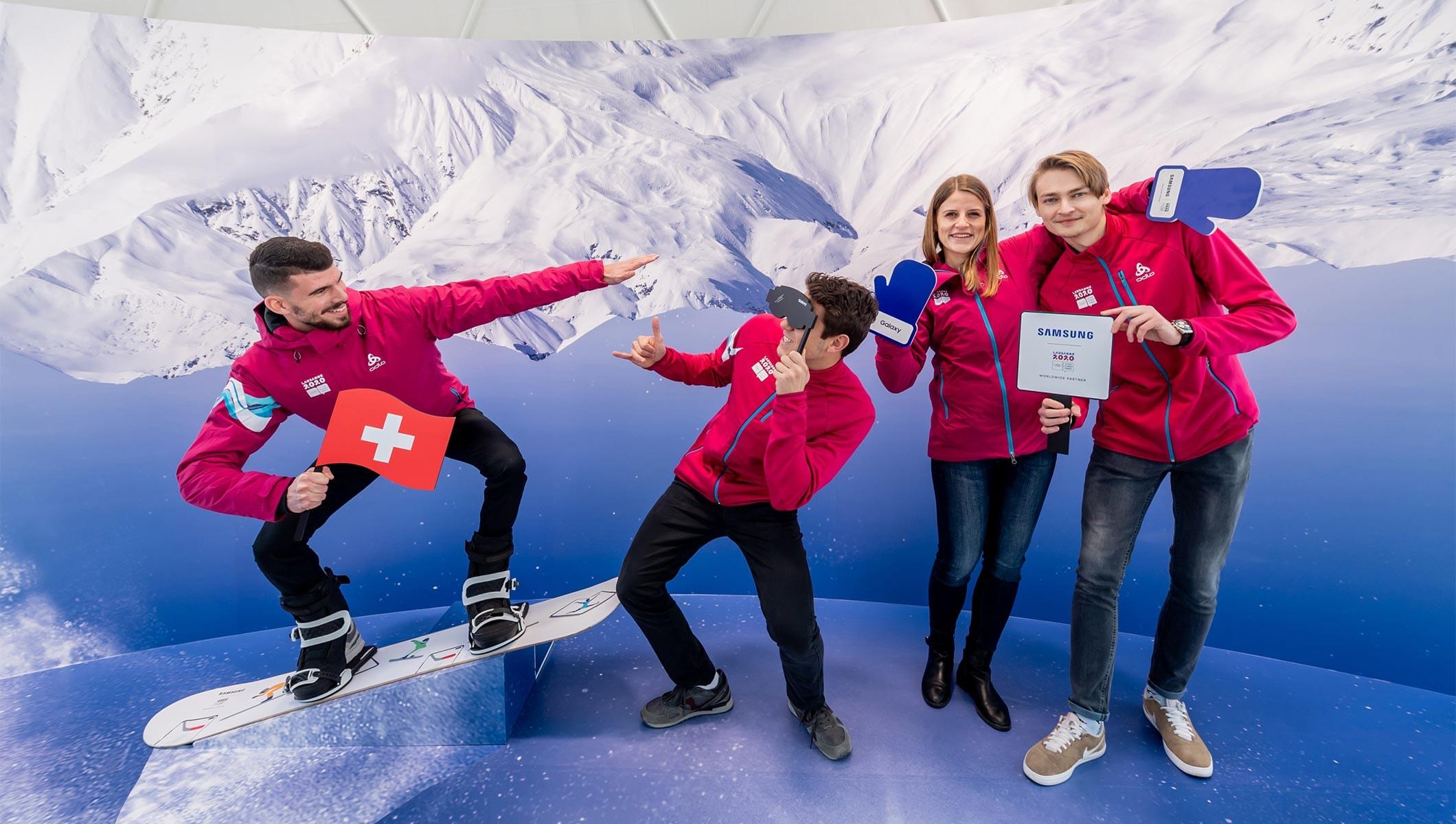 Samsung s'engage auprès des athlètes et des fans aux JOJ de Lausanne 2020