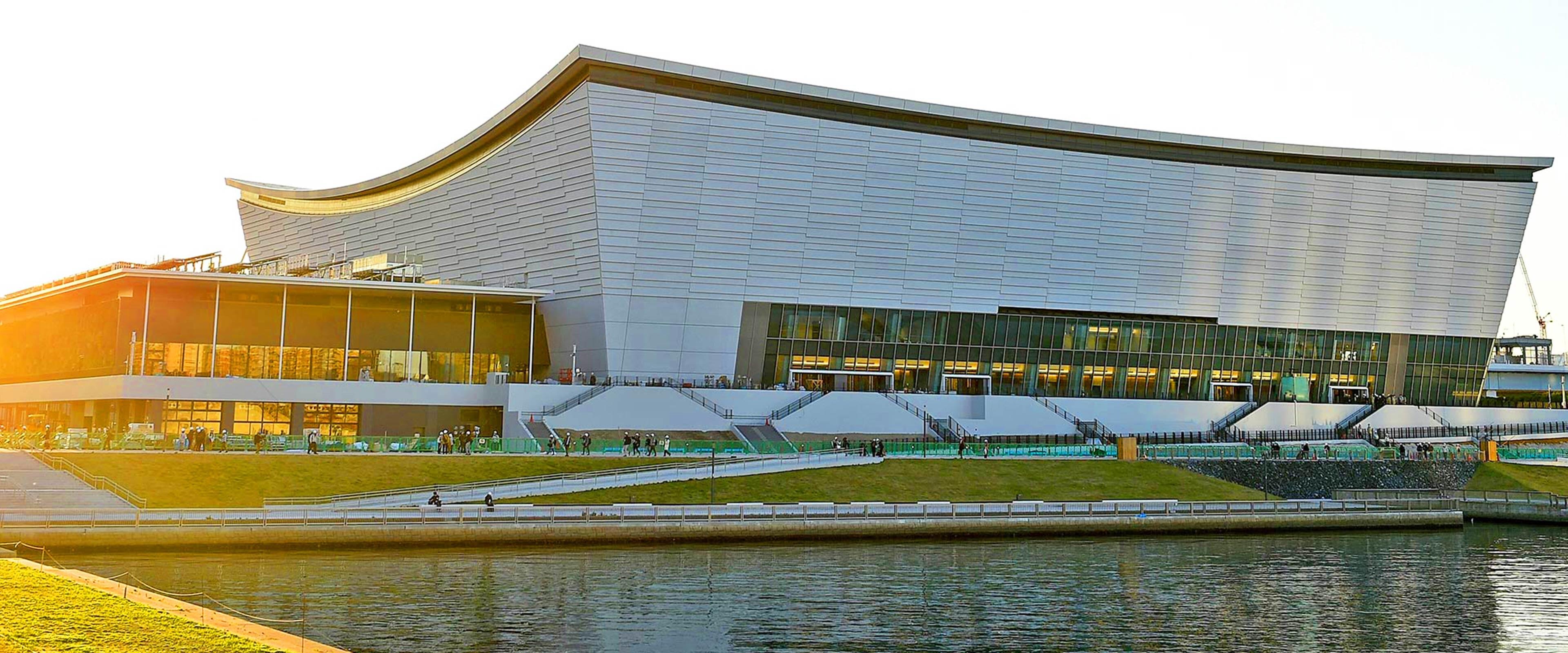 Ariake Aquatics center