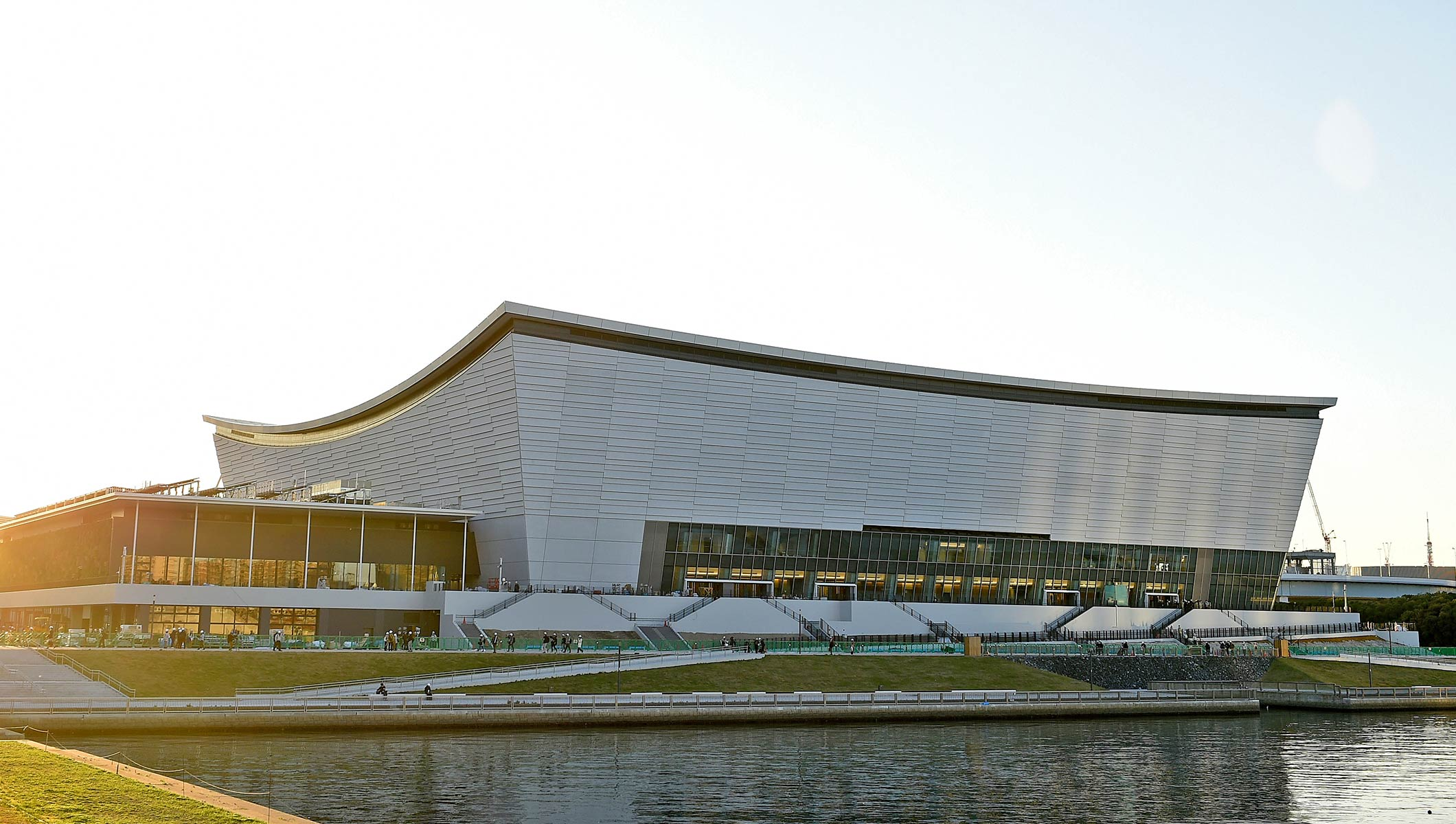 Ariake Aquatics center
