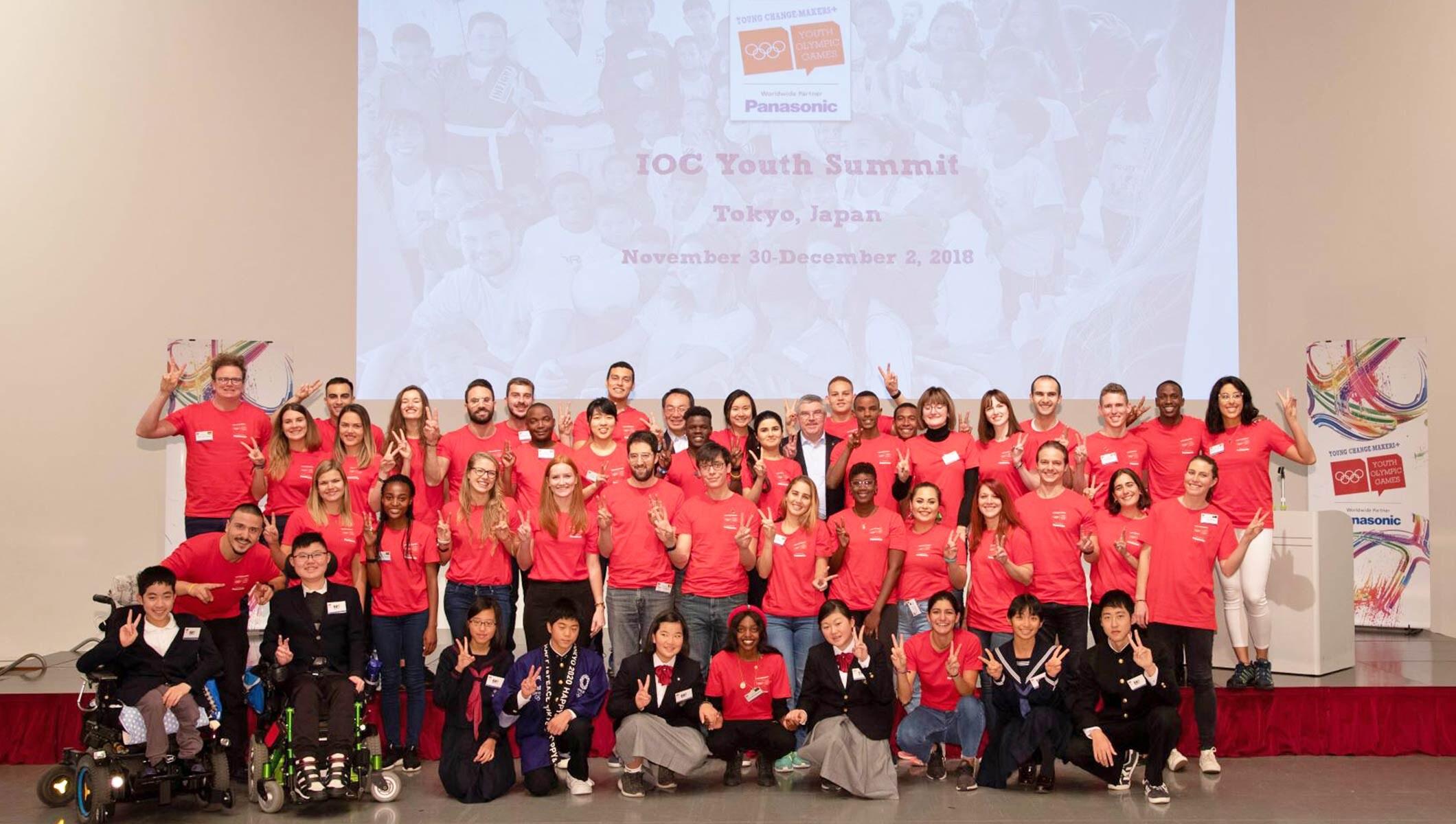 IOC Young Leaders Panasonic