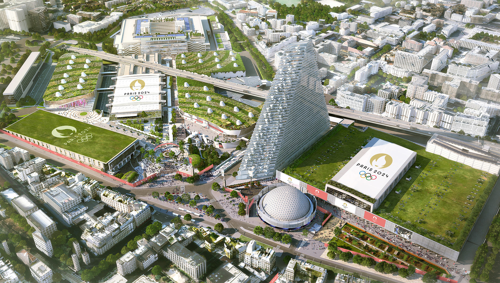 New era of Games embraced as updated Paris 20 venue concept ...