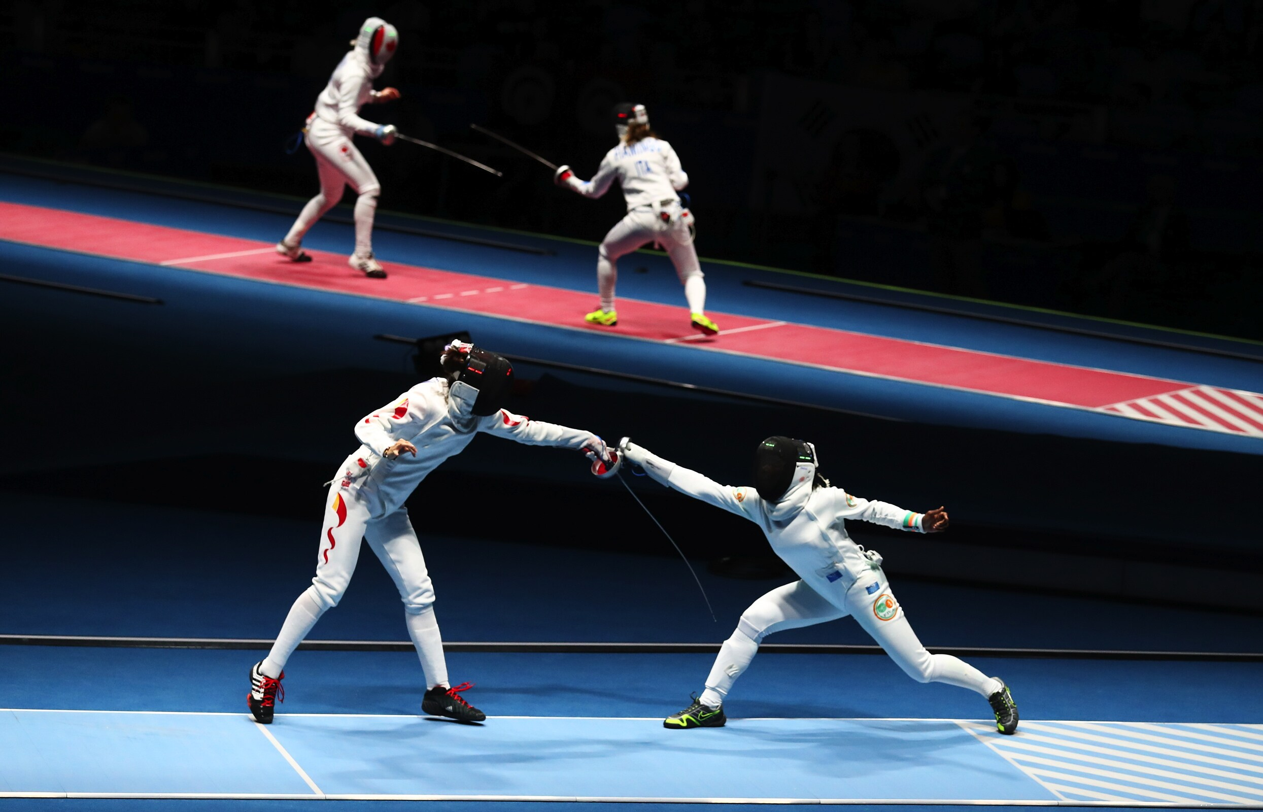 Women's Fencing Épée individual - Table of 32