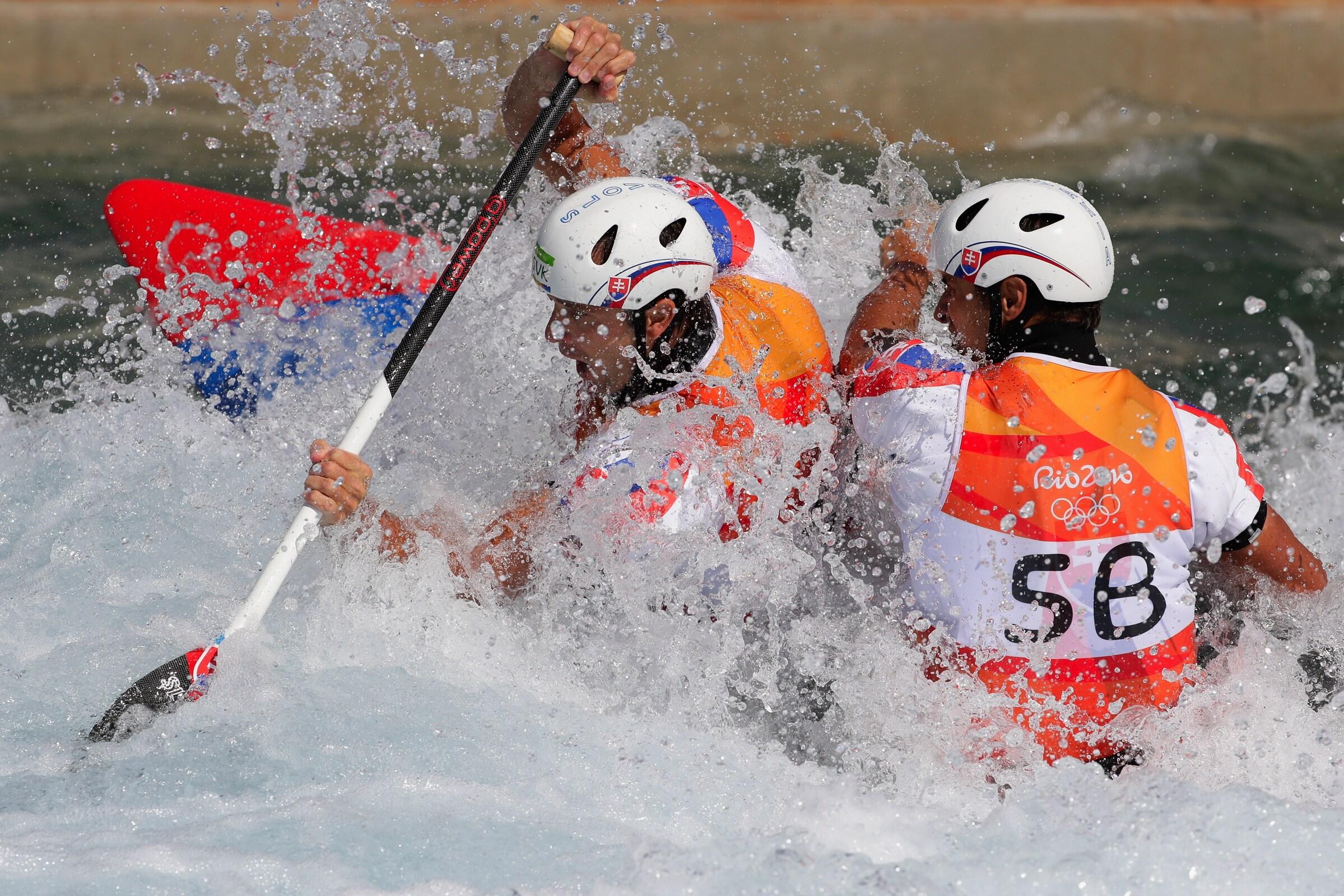 Canoe slalom - Canoe Double Men
