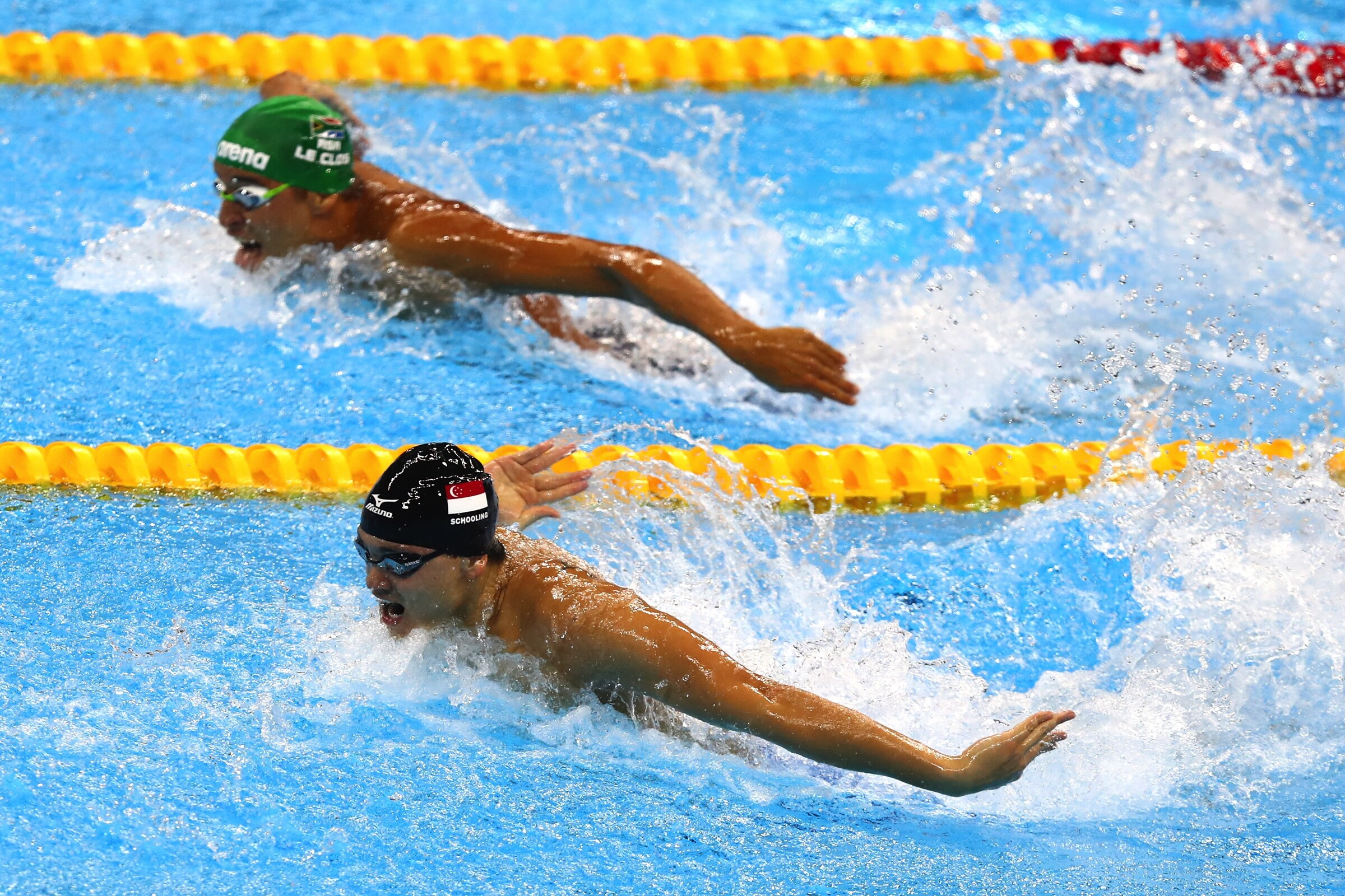 Swimming - 100m Butterfly Men