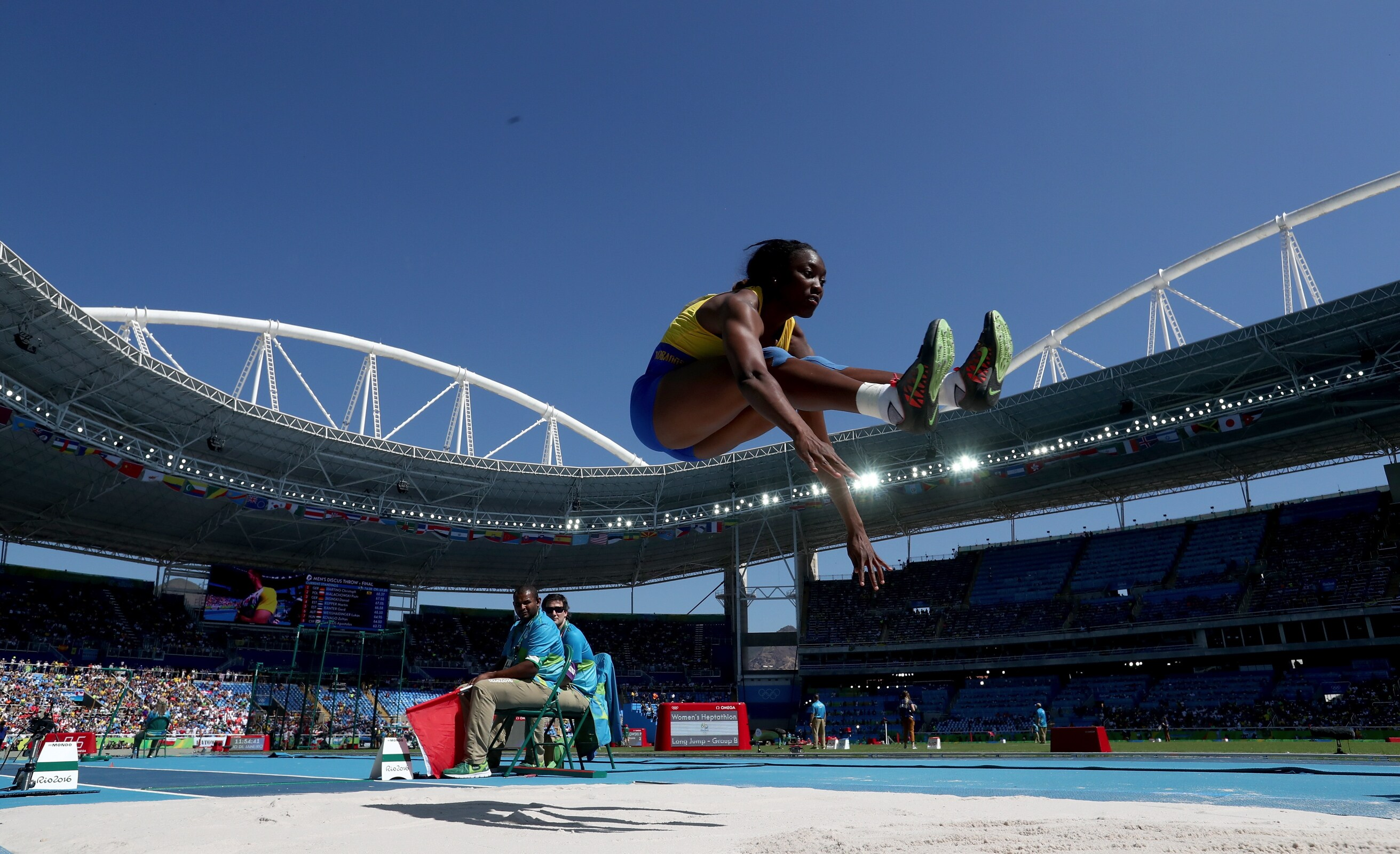 Athletics - Heptathlon Women : Long Jump