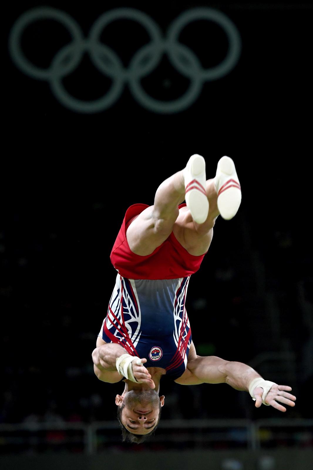 Gymnastique Artistique - Saut de cheval hommes