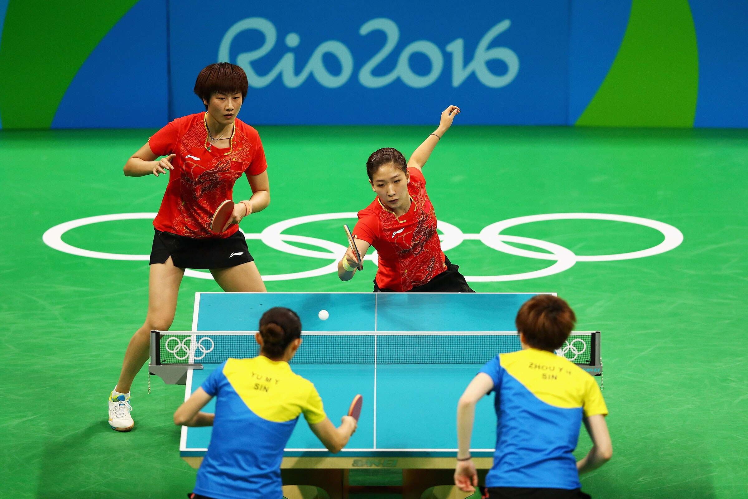 Table Tennis - Women's Team