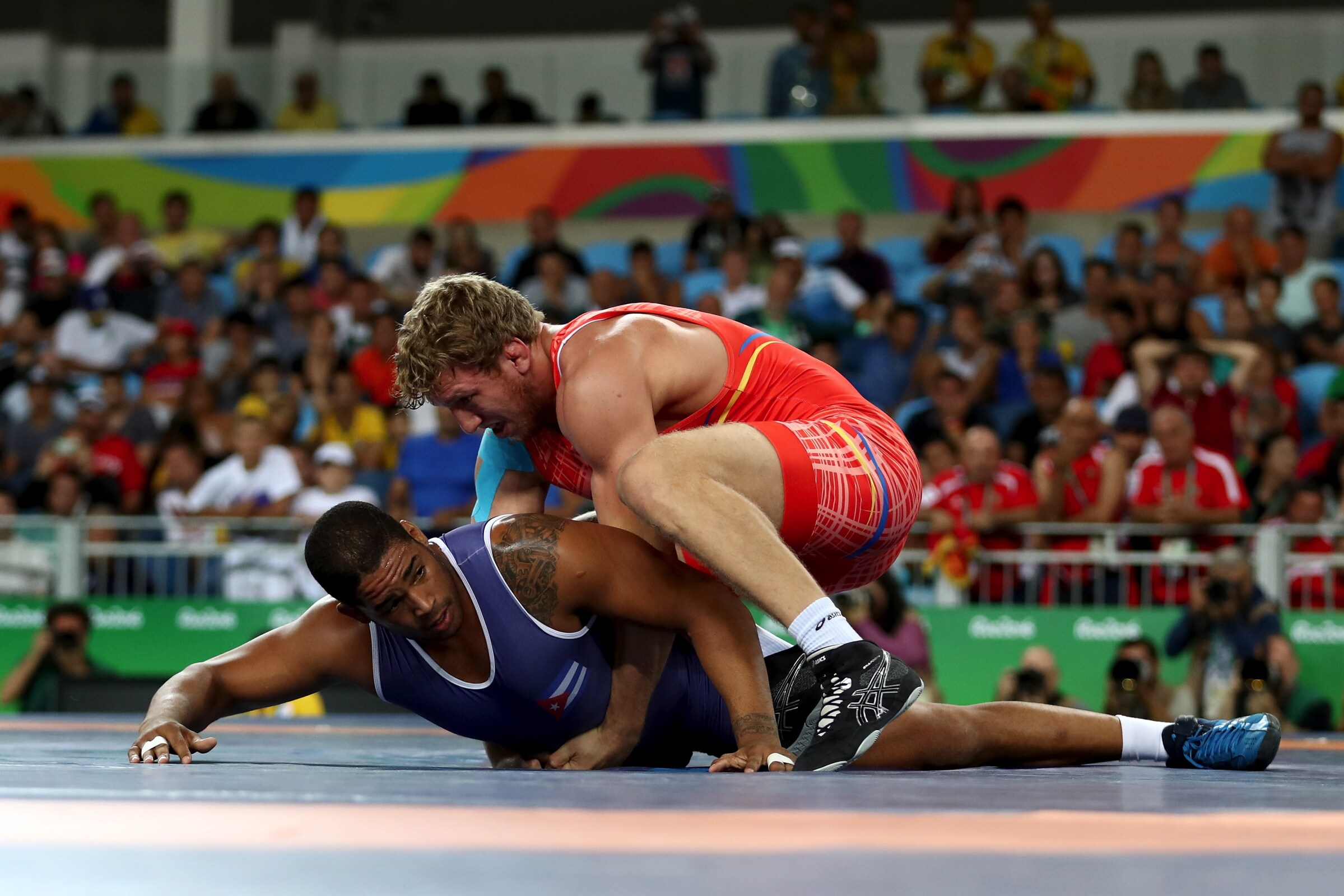 Wrestling - Greco-Roman 98kg Men