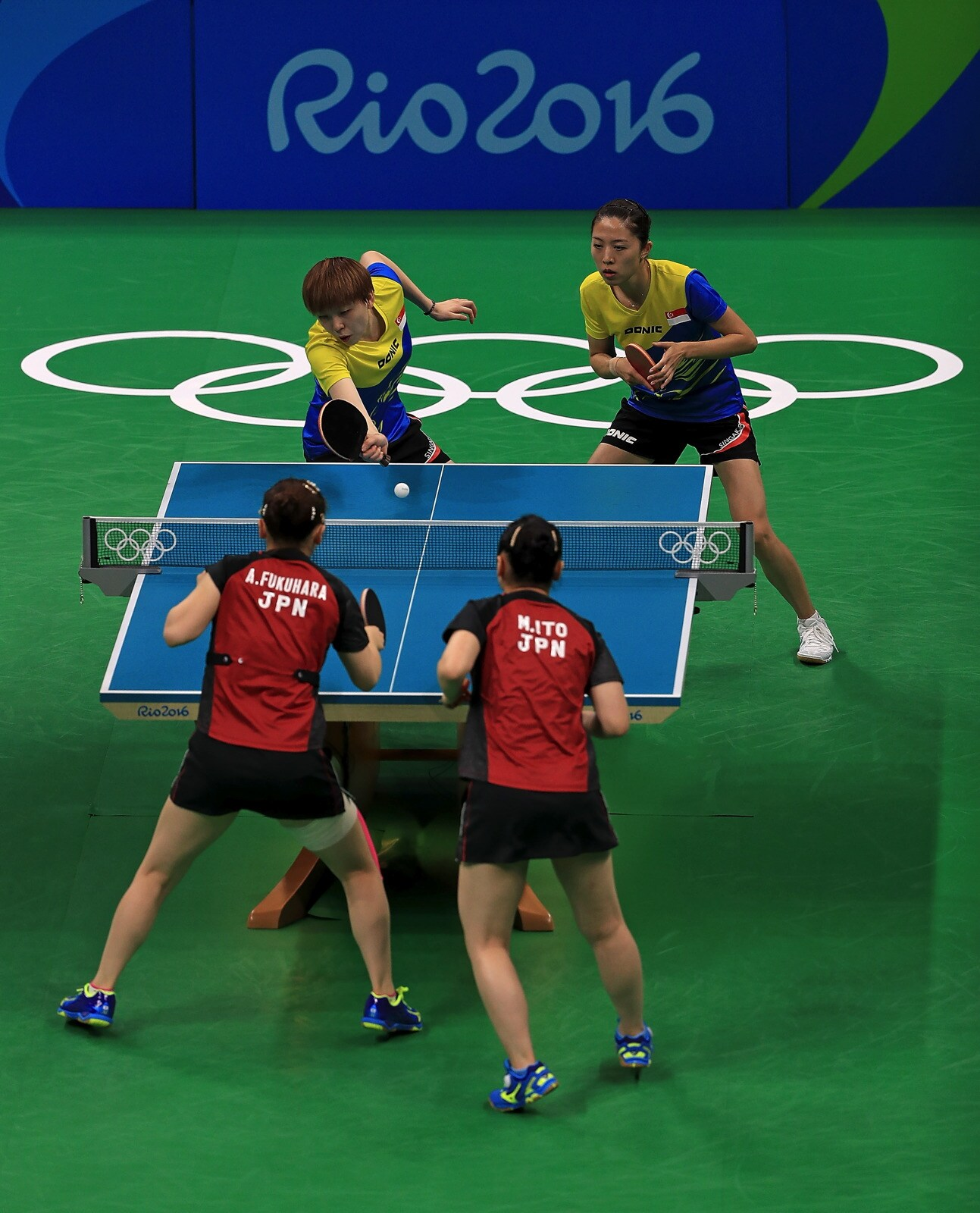 Table Tennis - Team Women