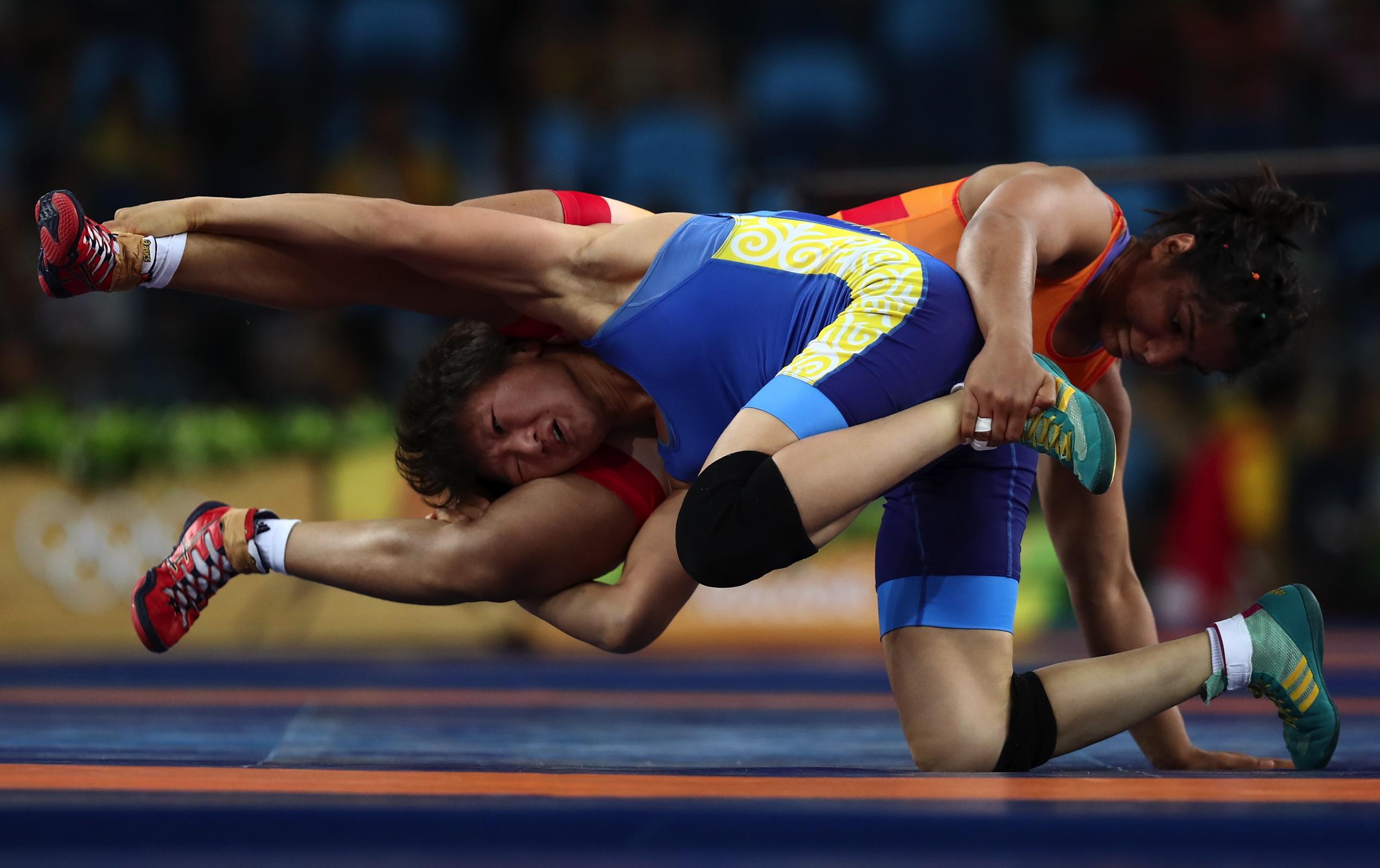 Wrestling - Freestyle 58kg Women