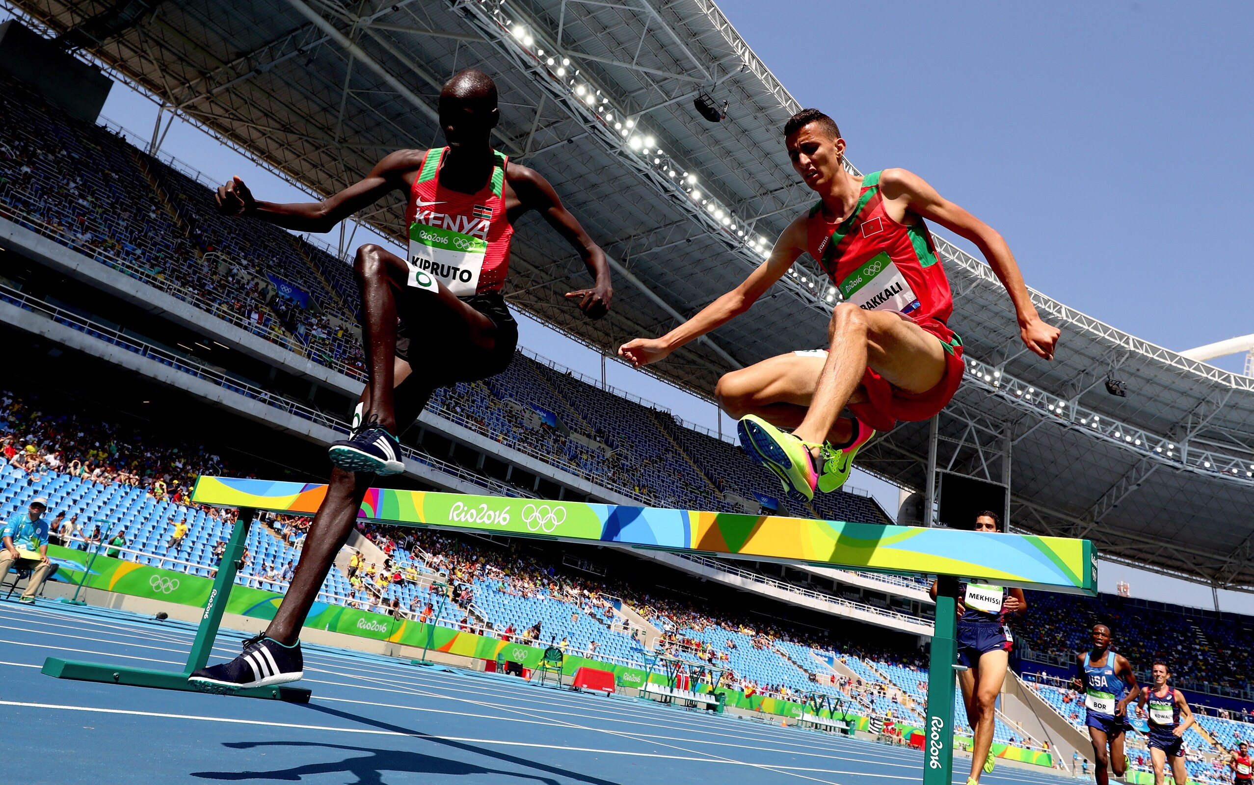 Athlétisme - 3000m steeple hommes