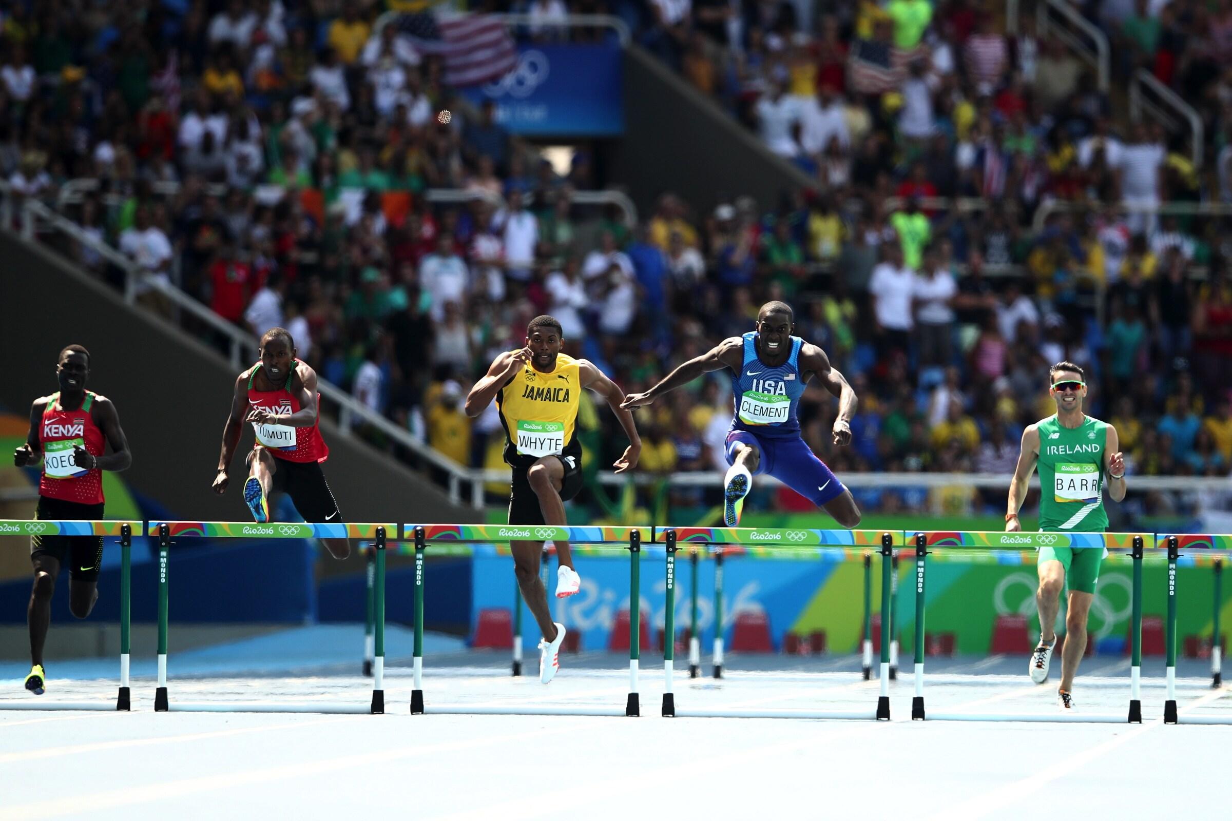 Athletics - 400m Hurdles Men