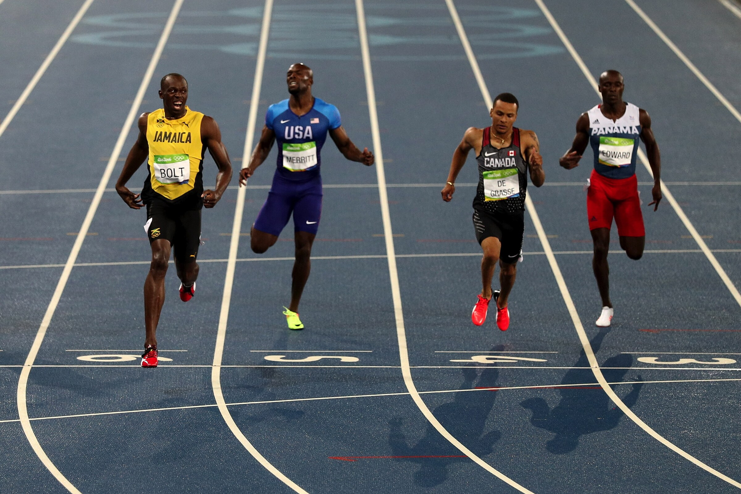 Athletics - 200m Men