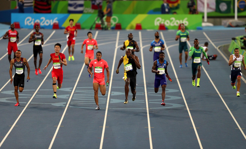 Athletics - 4x100m Relay Men