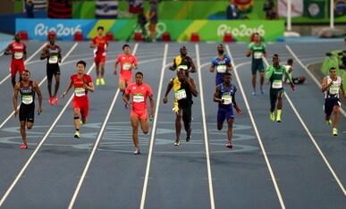 Athlétisme - Relais 4x100 hommes