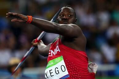 Athlétisme - Lancer de javelot hommes