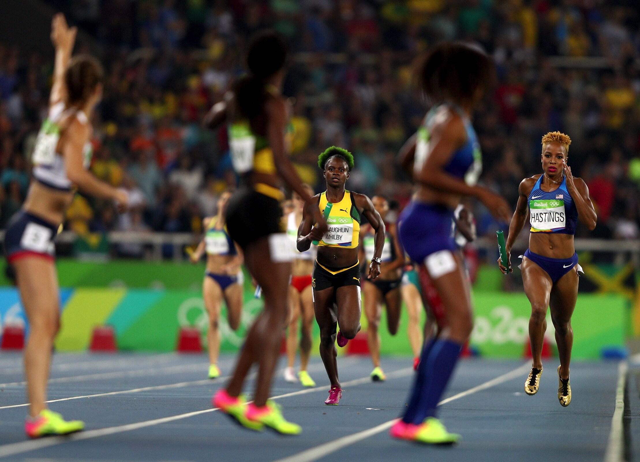 Athletics - Relay 4 x 400m Women