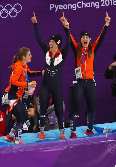 Short Track Speed Skating -  Ladies' 3,000m Relay