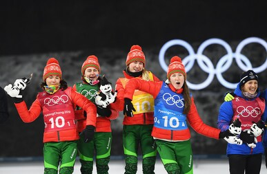 Biathlon - Women's 4x6km Relay