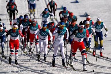 Cross-Country Skiing - Ladies' 30km Mass Start