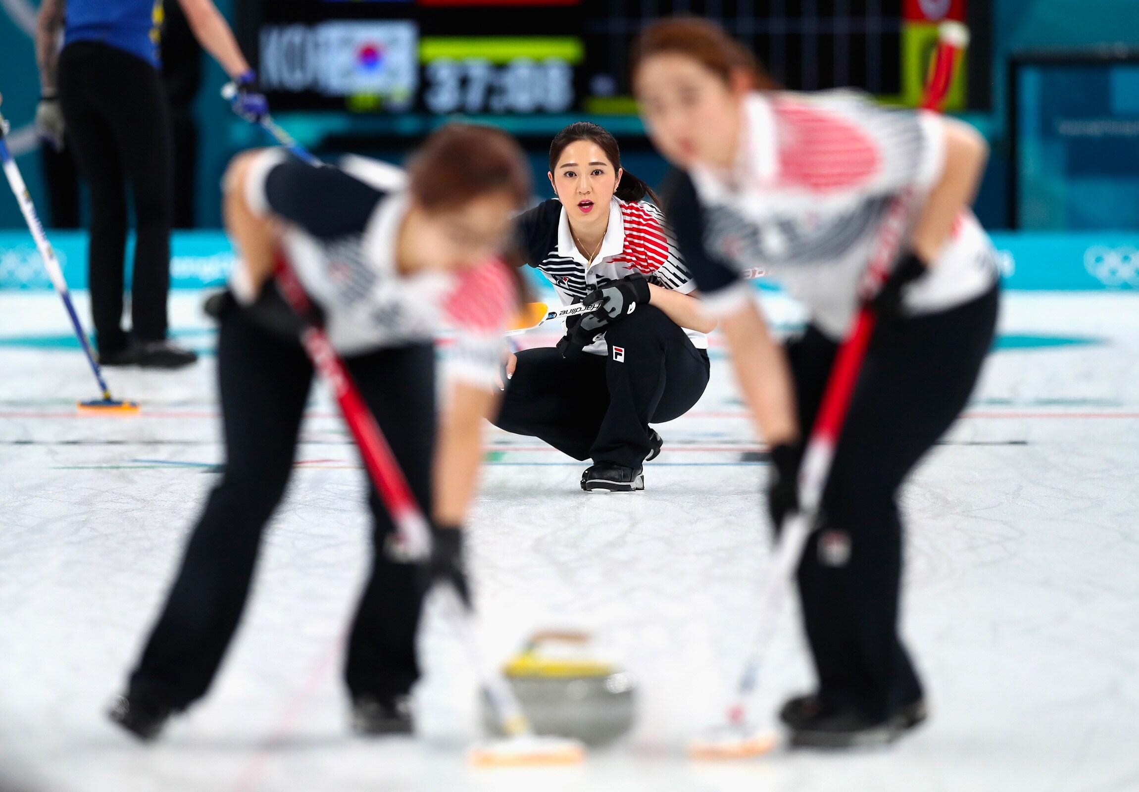 Curling - Femmes match médaille d'or